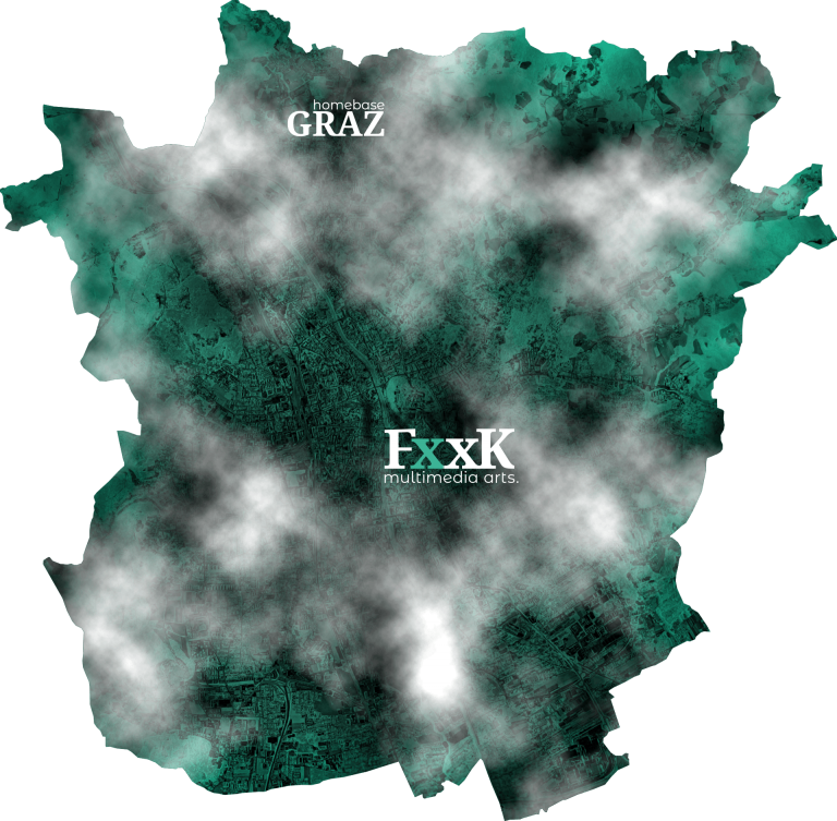 map of graz - the x marks the spot